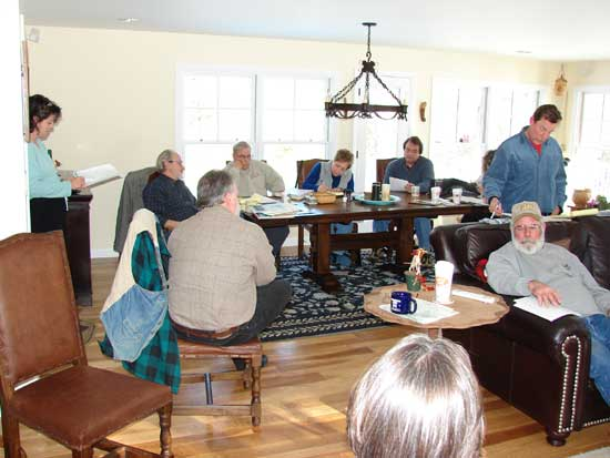 Some of the others at the February 2007 meeting.