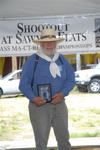 Rattlesnake Rische - Outstanding Cowboy Award (Outstanding contribution to the Event)