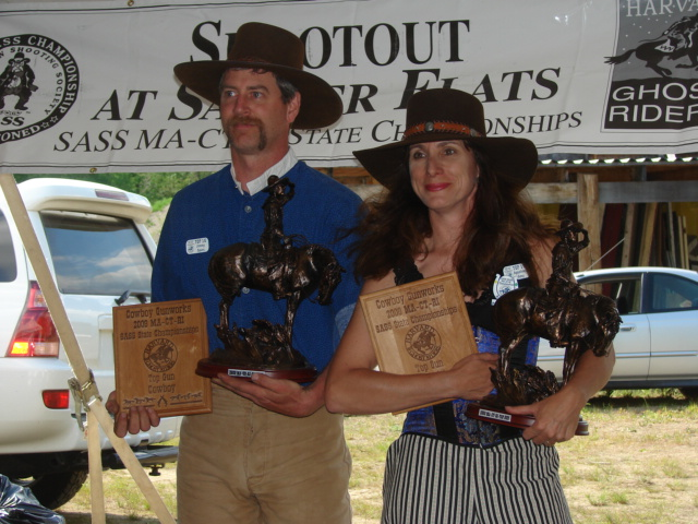 Overall Winners:  Jimmy Spurs and Appaloosa Amy