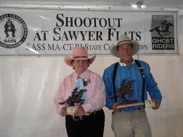 2009 SASS MA State Champions:  Birdie Cage and Grazer