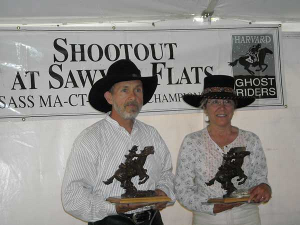 2009 SASS RI State Champions:  Brett Cantrell and Wild Sage