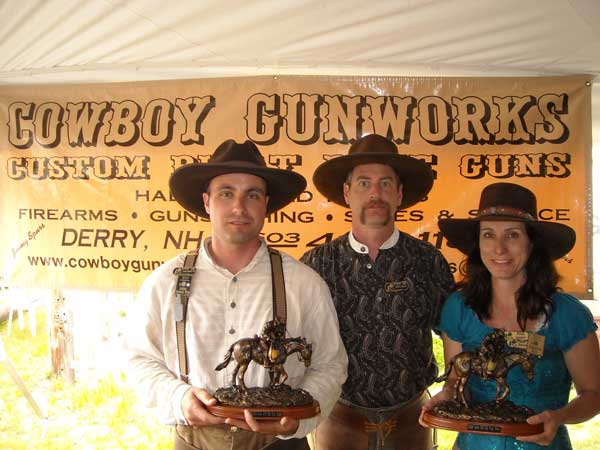 Top Guns with Jimmy Spurs of Cowboy Gunworks, the Match Sponsor.
