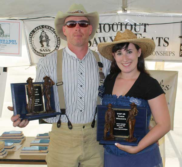 Shootoff Winners - Sixgun Schwaby and Snazzy McGee