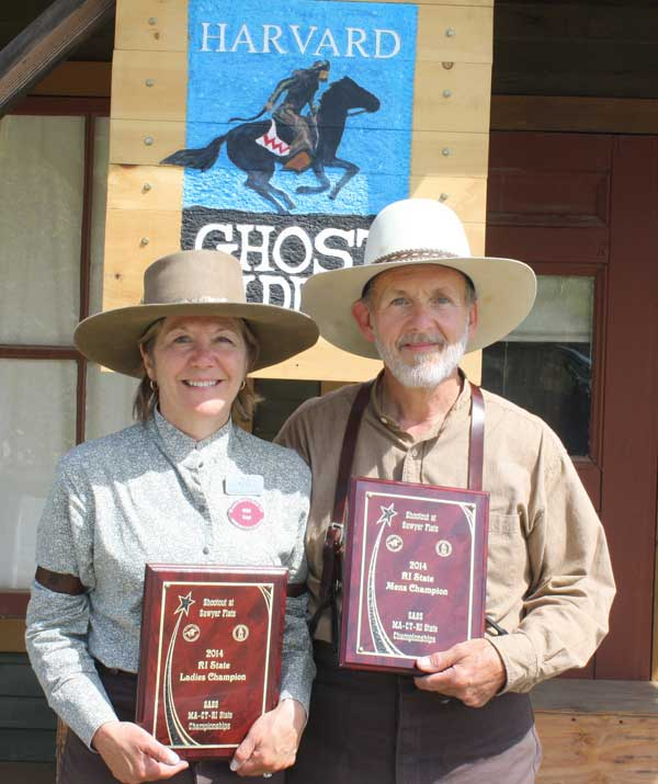 2014 SASS RI State Champions - Wild Sage and Brett Cantrell